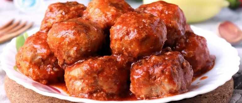 Котлеты в томатном соусе - пошаговый рецепт с фото на Повар.ру